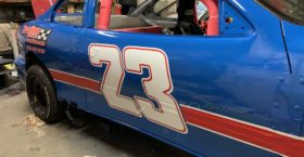 23 Min i Stock Racecar Decals